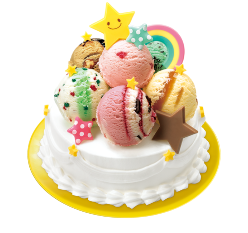 サーティワン デコケーキ