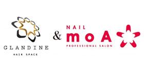 ヘアスペース グランディーヌ&ネイルモアのロゴ画像