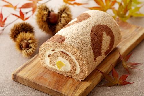 ≪キャラメル×マロン≫秋限定ロールケーキ
